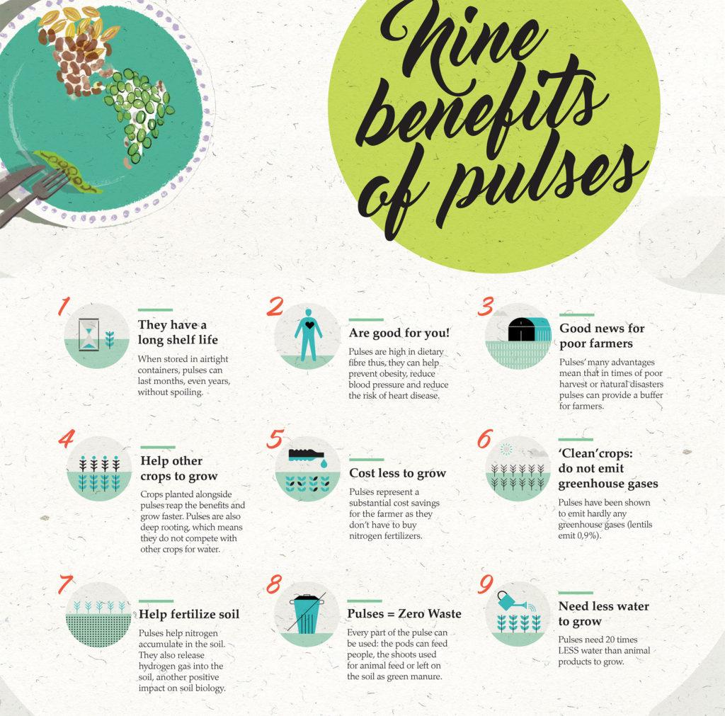 Pulses 9 benefits